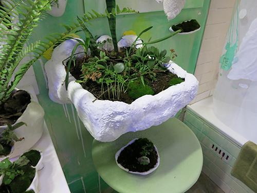 Lotte Schwerdtfeger, Water Closet/Wilderness Cabinet/ Wellness Centre