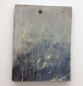 Angelica Roache-Wilson, Faded Black, 2014, oil on board.