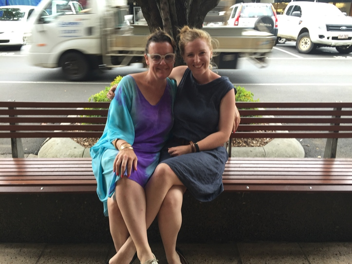 Tarn McLean and Alexandra Lawson. Ruthven St Toowoomba