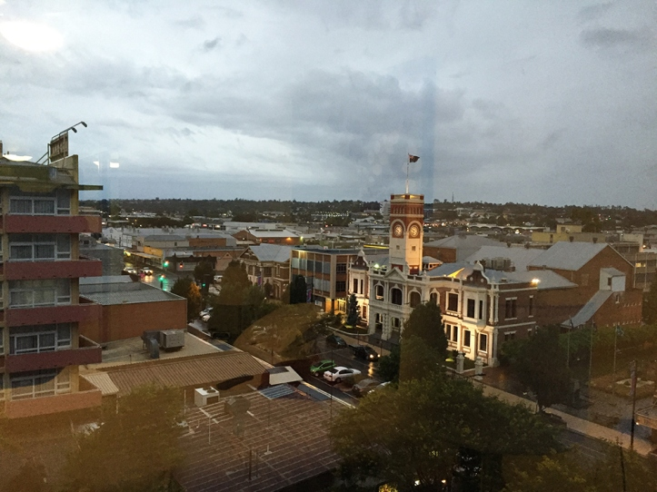 Toowoomba from my window