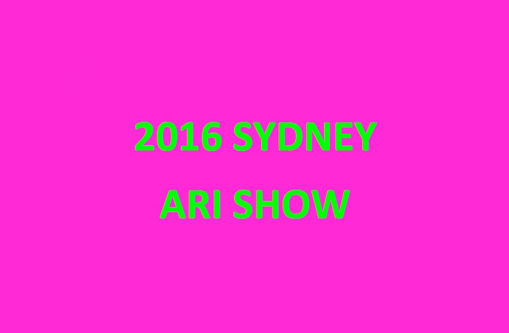 2016SYDNEYARISHOW-2